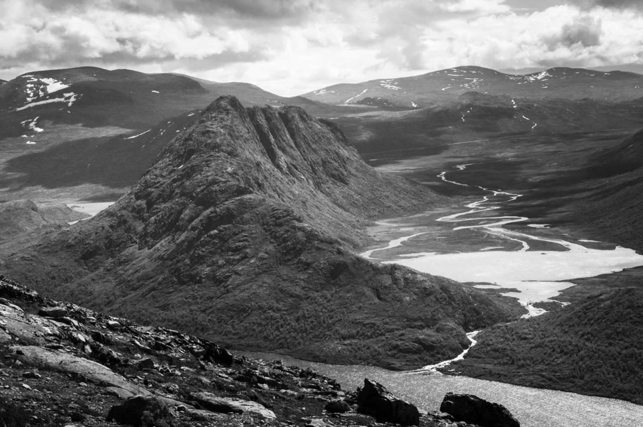 KNUTSHØ: Her sett fra Besseggen. Foto: Gunhild Aaslie Soldal