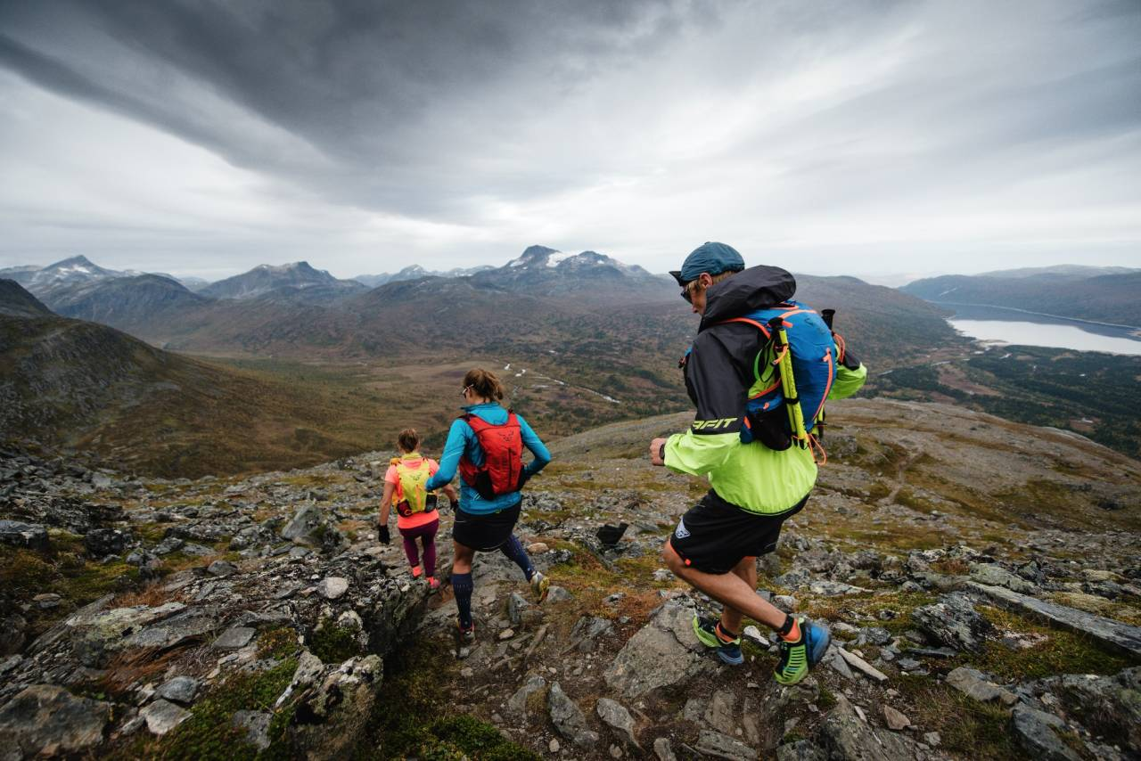 NAVIGERING: Denne turen lar deg løpe fra topp til topp i Oppdal. Foto: Martin I. Dalen