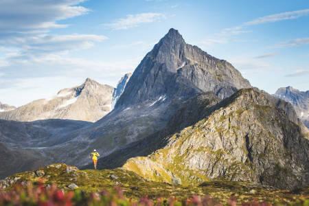 løping i fjellet