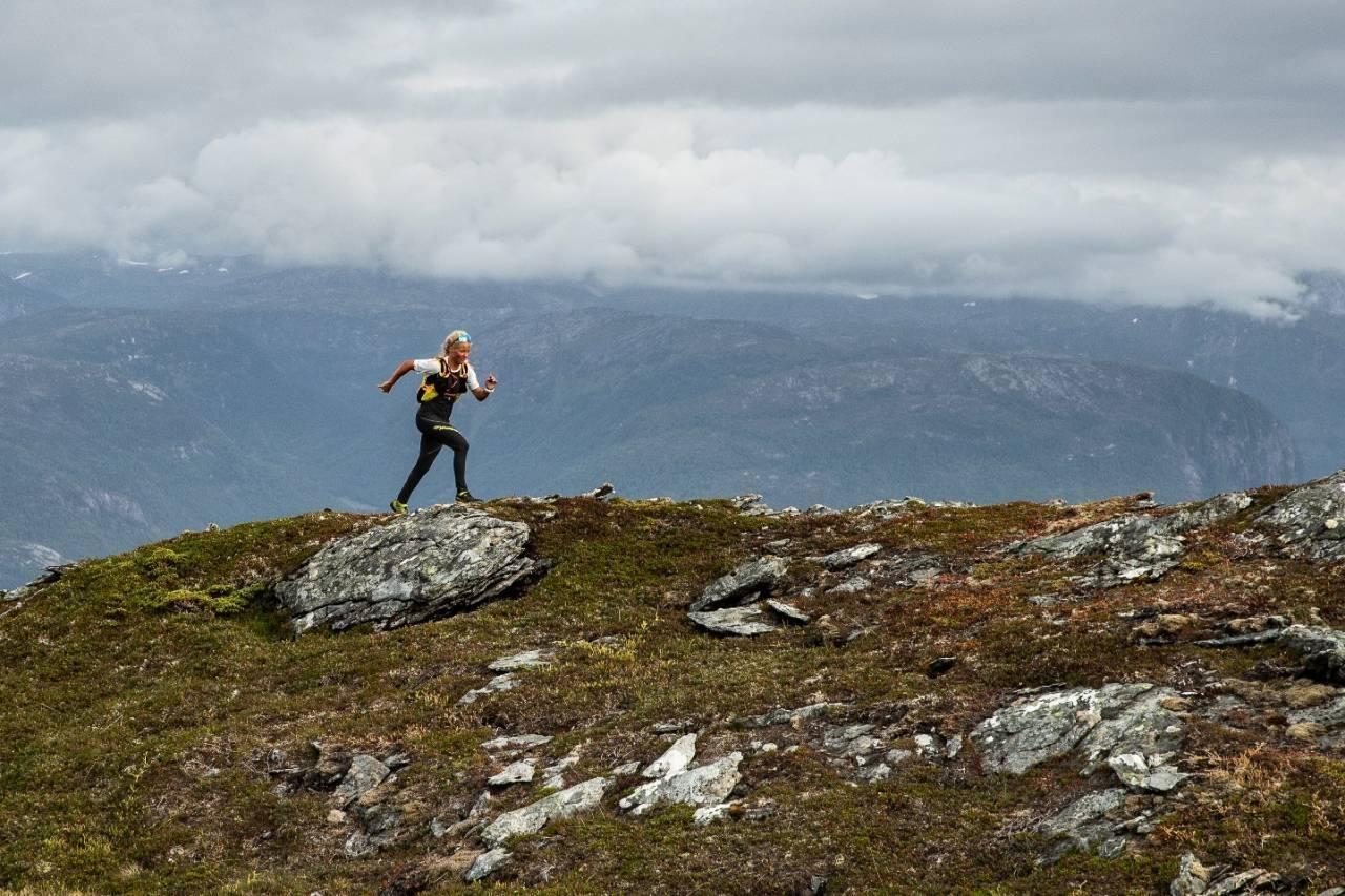 Malene Haukøy Sognefjorden UTEmagasinet løping