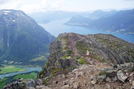 16 observasjoner fra Romsdalseggen