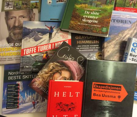 HARDE PAKKER UNDER TREET: Usikker på hva du ønsker deg, eller hva du skal gi? Vi har samlet et knippe bøker for den friluftsinteresserte.