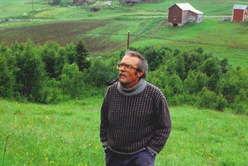 HJEMME PÅ GÅRDEN: Sigmund Kvaløy Setreng i 1984. Foto: Scanpix