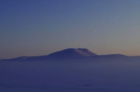 Vintervakre Finnmarksvidda. Foto: Ida Ask
