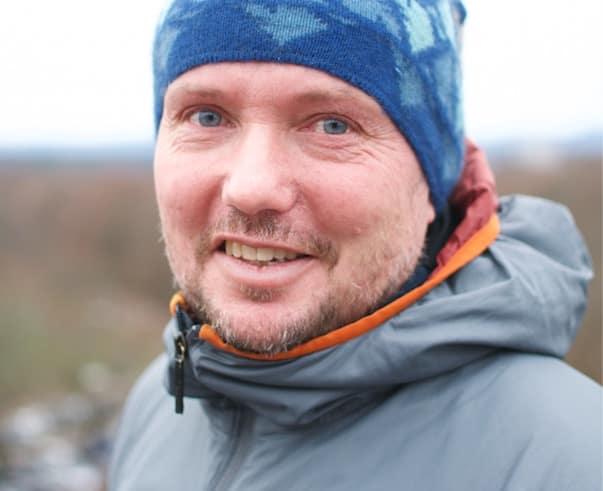 MARKUS LANDRØ: – Jeg har enorm kjærlighet til det å være i fjellet. Det å gå inn i det ukjente har en verdi. Jeg setter pris på den usikkerheten, jeg mener det er bra. Men det er mye man kan oppsøke som ikke er livsfarlig, sier Landrø. Foto: Gunhild Aaslie Soldal