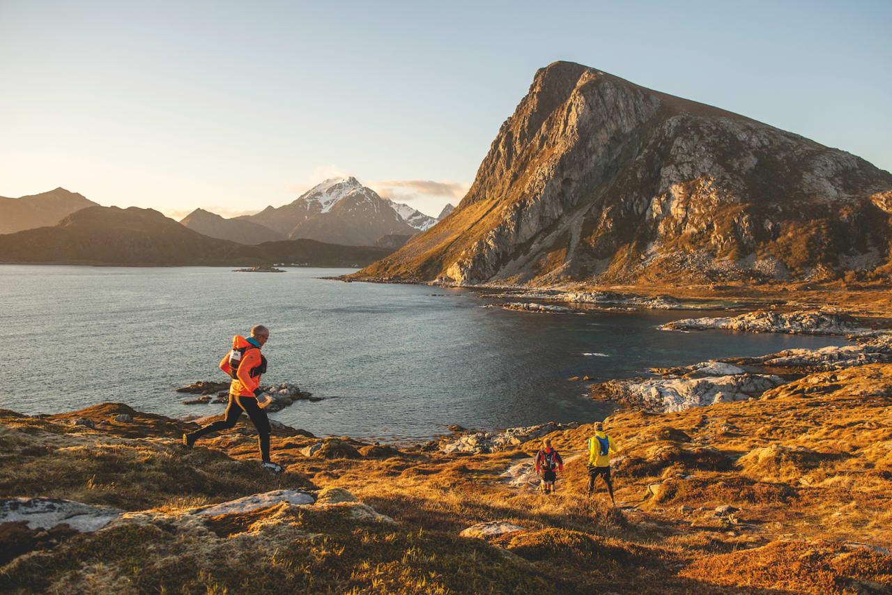 4e0c7cd3 LØPELYST: Lofoten Arctic Trail innebærer løping i fantastiske omgivelser.  Foto: Kai Otto Melau