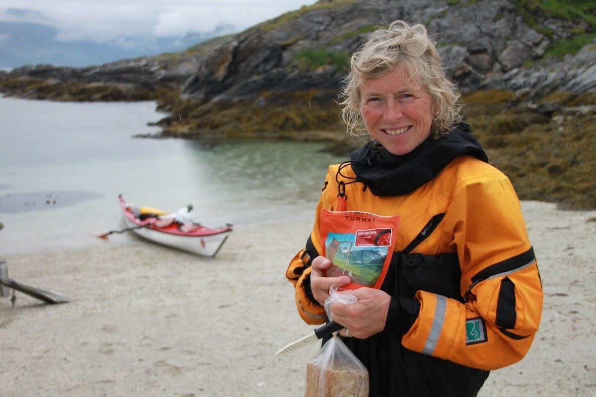 RANDI SKAUG: I fjor høst kjøpte hun øya Naustholmen i Steigen, Nordland. Til sommeren skal det arrangeres festival for jenter her.