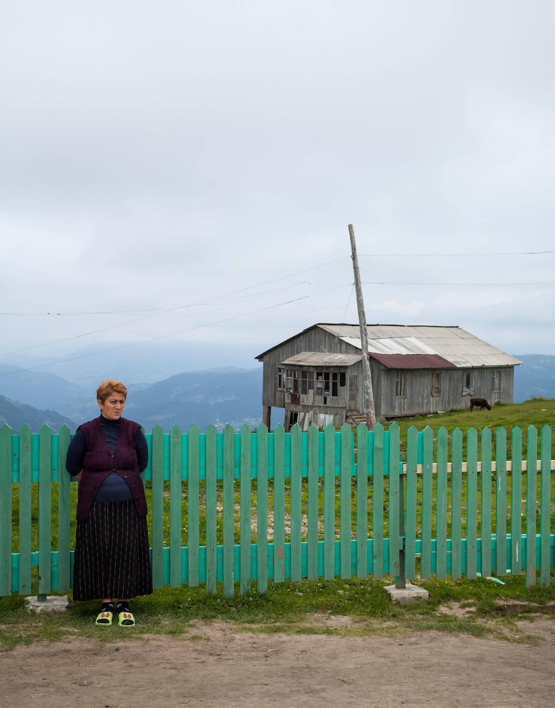 GEORGIA: Goderdzi-passet på vei til Batumi. Foto: Hans Aage
