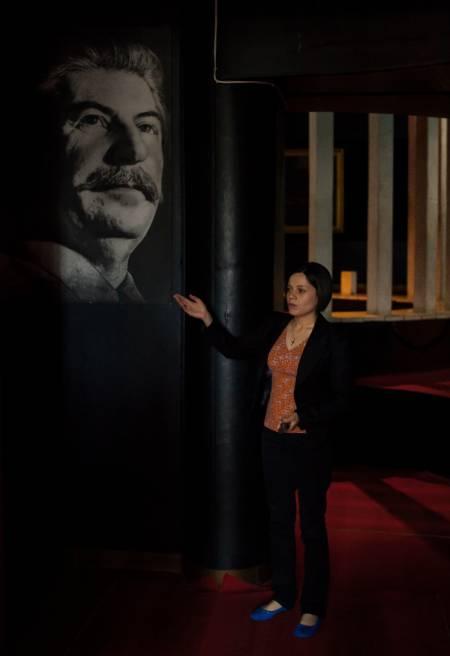 BYSBARN: Josef Stalin har sitt eget museum i Gori. Foto: Hans Aage