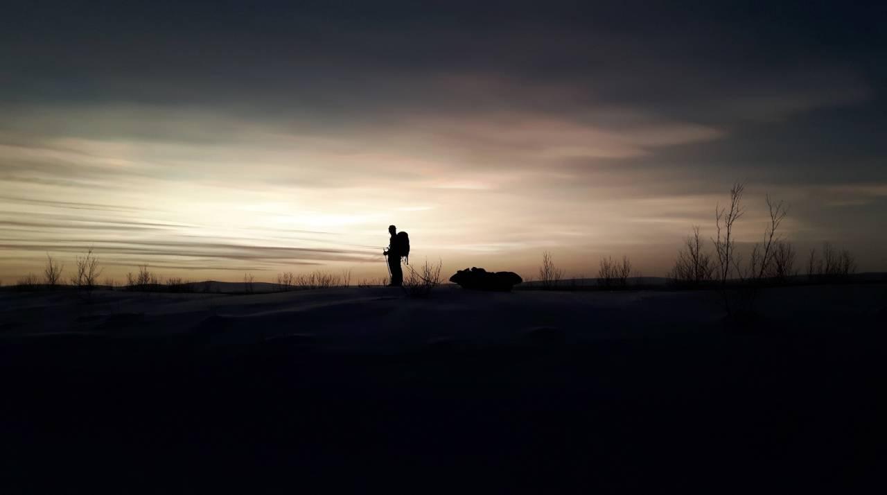 STÅ HELT STILLE: Finnmarksvidda framkaller følelsen av evighet.