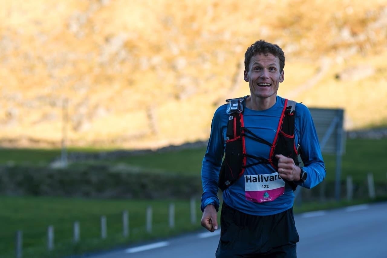 SJØLBERGING: Hallvard Schjølberg er en av landets beste ultraløpere. Foto: Kai Otto Melau