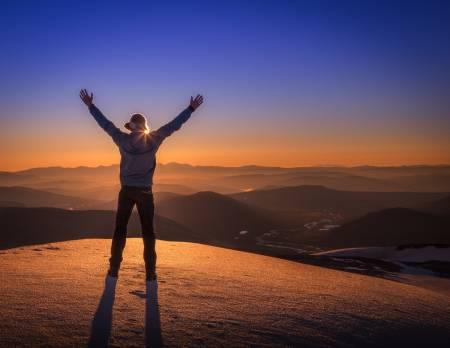 NASJONALPARKEN: Du vet den følelsen av å være på rett sted til riktig tid? Foto: Kristoffer Mæle Thuestad