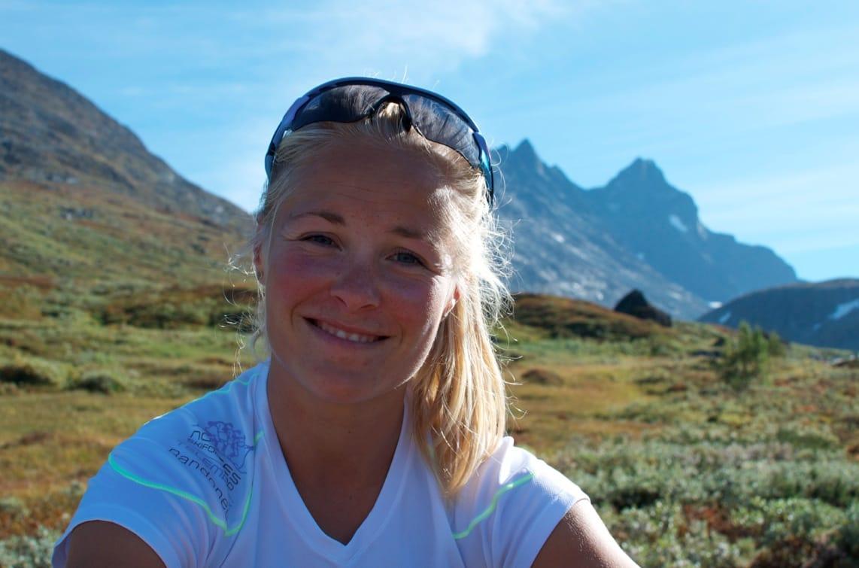 KLAR TIL START: Malene Blikken Haukøy er klar for norgescup-start i randonee på hjemmebane førstkommende helg. Men det er VM i Verbier som er sesongens store mål. Foto: Gunhild Aaslie Soldal