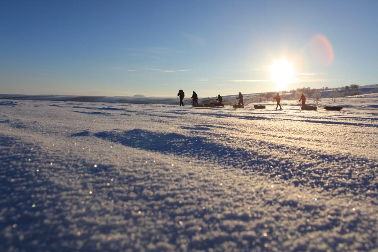 Vi ble med vinterens mester, Børge Ousland, på ukestur over Finnmarksvidda, for forstå enda bedre hvordan vinterturene kan bli de aller flotteste turene.