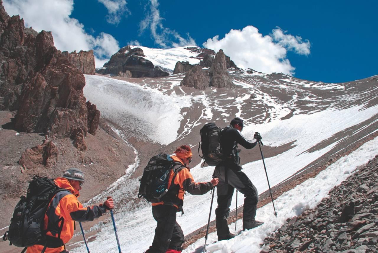 PÅ DRØMMETOPPEN: Sør-Amerikas høyeste fjell, Aconcagua, står høyt på ønskelista for mange.