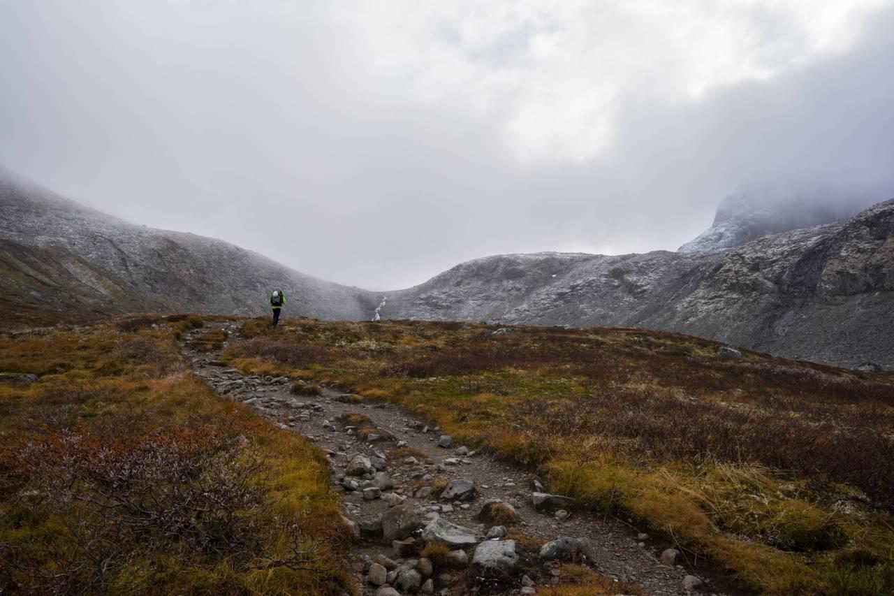 HURRUNGANE: Hausten er ei stortid for fjellfolk. Hausten i Hurrungane er i stortid for alle. Foto: Ståle Aklestad.