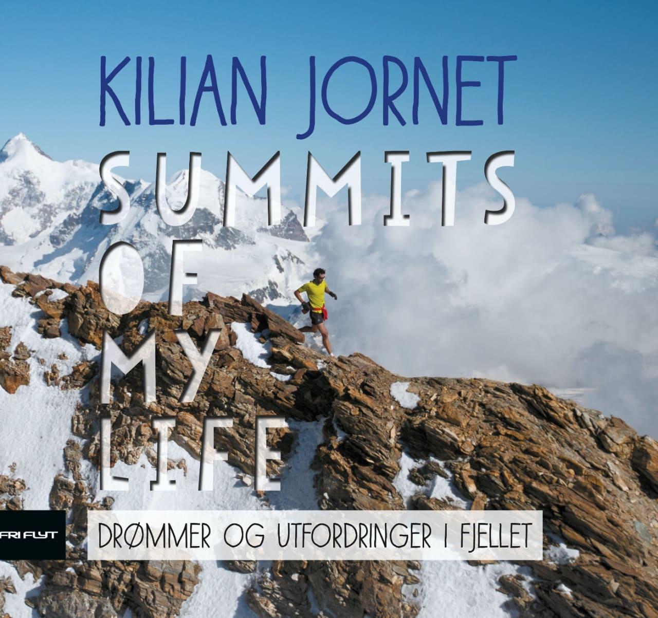 TOPPSTØTEREN: I denne boka får vi et innblikk i Kilian Jornet sitt største prosjekt hittil.