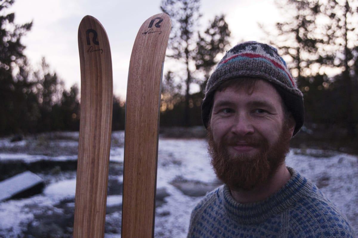 JULETUR: Kjell-Harald Myrseth legger snart ut på tidenes pub-til-pub-tur gjennom den nordnorske villmarka Det blir hans femte jul ute.