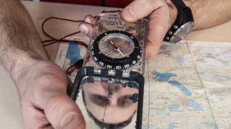 Lær å bruke kart og kompass