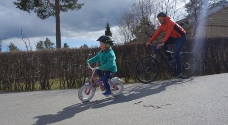 Lære å sykle