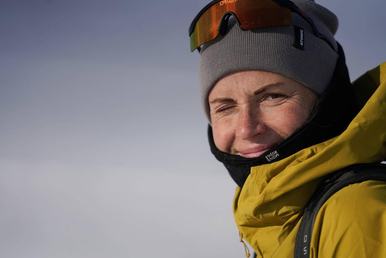 TIL FJELLS: Marthe Kristoffersen har lagt opp som langrennsutøver, og bruker nå så mye tid som mulig i fjellet. Foto: Martin Andersen
