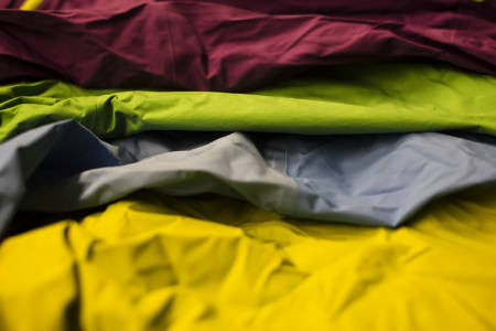 KUNNSKAP: Klær står for omkring 60 prosent av totalomsetningen i sportsbransjen. Omsetningsveksten på tekstiler i kategorien fjell og friluftsliv er det som vokser aller mest. Foto: Hans Petter Hval