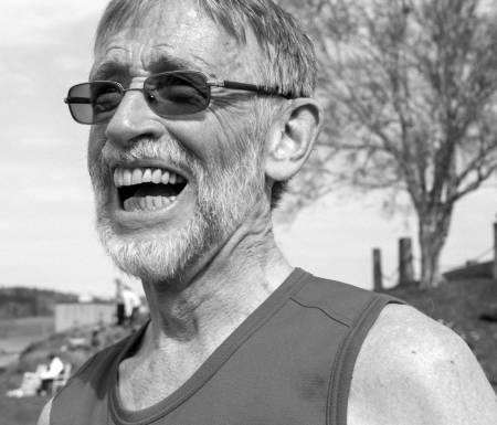 MILSLUKER: Få slår Hagbart Vebostad i klassen 70 – 74 år i dette langstrakte land! Foto: Øystein Lie