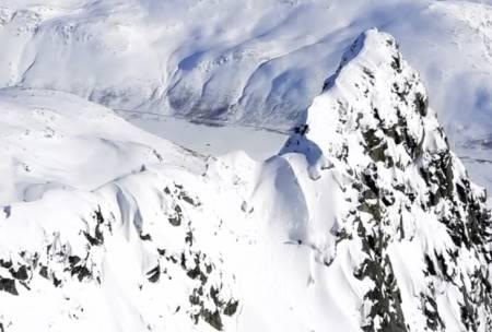 EN TRØNDER NORD FOR POLARSIRKELEN: … Kan ofte bety trøbbel, men ikke når det er snakk om Robert Aaring med ski på beina.
