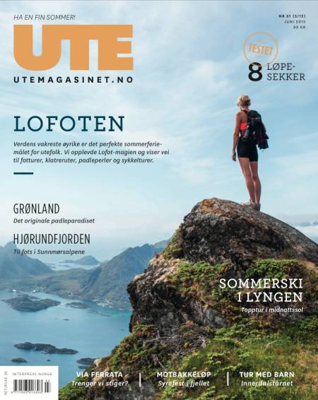 UTE NÅ: Et må-ha for deg som planlegger Lofoten-tur i sommer.