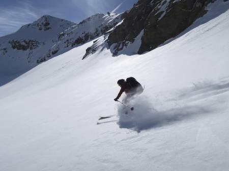 PUDDER: Florlett snø setter vi ekstra pris på mot slutten av mars.