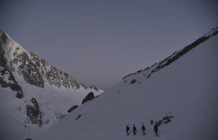 NYANSER: En nydelig morgen og en hel skidag foran oss.