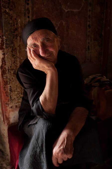 Nonne. Foto: Hans Aage