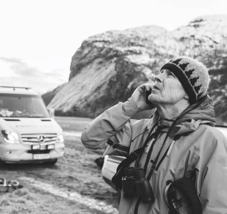 ALPINT ANSVAR: Så lenge tindesporten har eksistert, har klatrere hjulpet hverandre når uhell skjer. Enkelte oppdrag gruer man seg til, skriver bokaktuelle Ture Bjørgen.  Foto: Jarle Aasland, Stavanger Aftenblad
