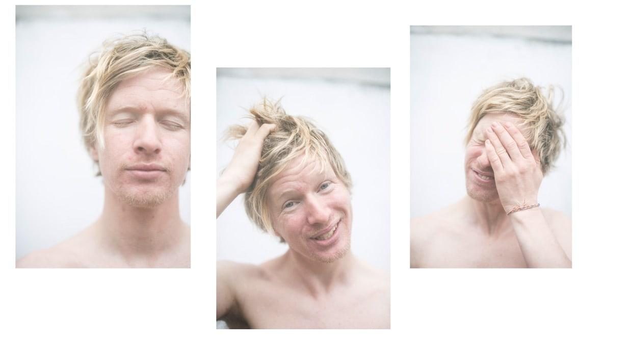 SIRKUS STIAN: Polarguide og deltidseventyrer, Stian Aadland, også kjent som Stian med sekken. Foto: Line Hårklau