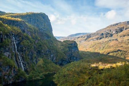Aurlandsdalen er kjent for sin frode og mangfoldige natur. Foto: Marte Stensland Jørgensen