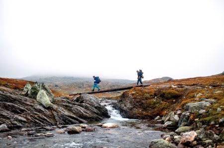 Aurlandsdalen byr på variert terreng og utsikt. Fra Geiterygghytta (p-plassen) til Østerbø regnes det sju timer og strekningen er rundt 20 kilometer. Foto: Marte Stensland Jørgensen