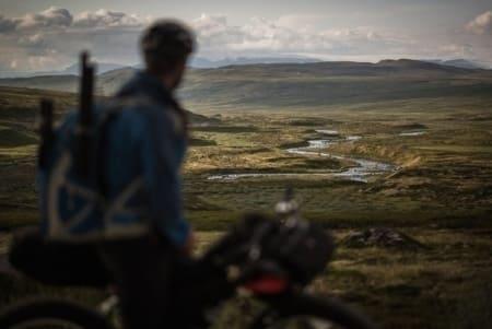Sykkel og raftingtur  på Hardangervidda