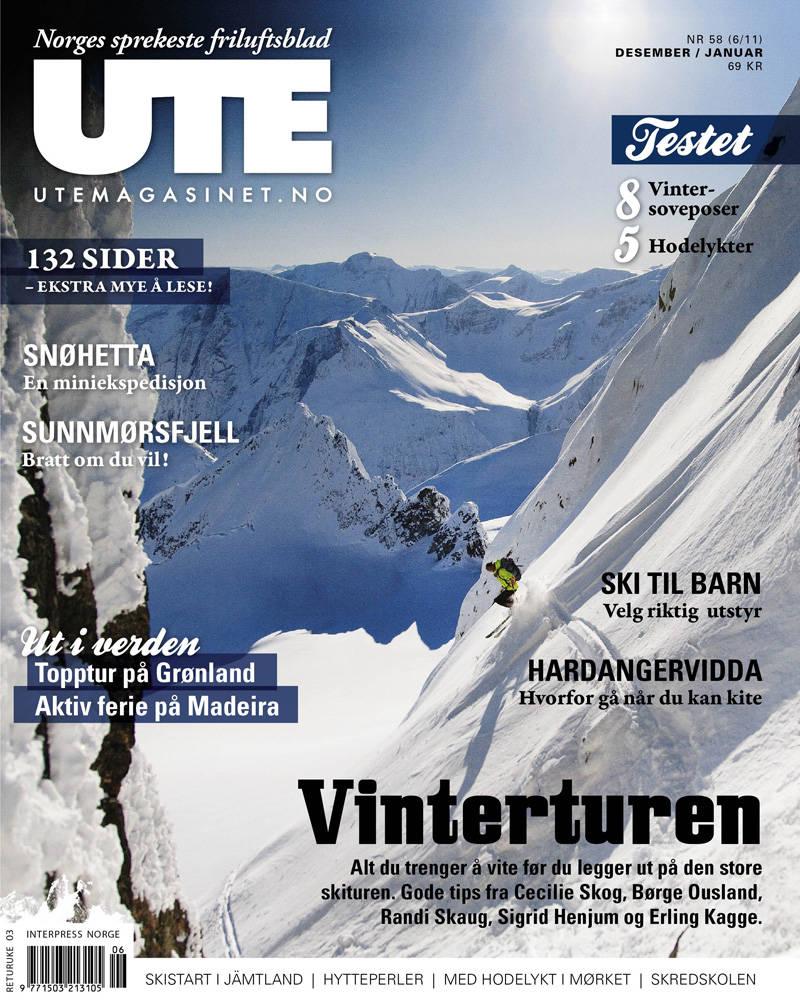 Nytt UTE er i salg fra 23. november!