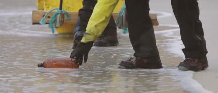 Inge Wegge dro til Svalbard med Infinitum Movement for å sette fokus på hvordan søppel og plast påvirker livet i arktis.