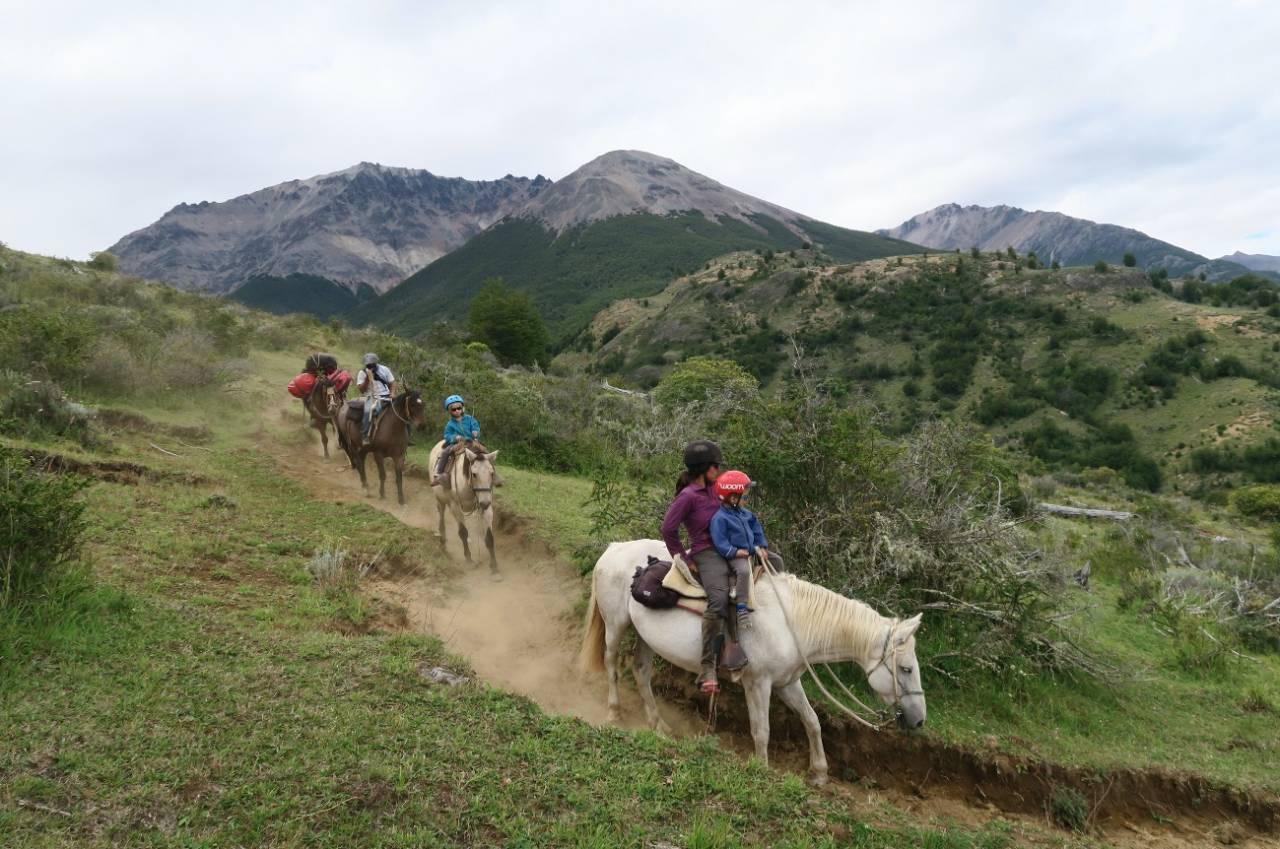 Med hest gjennom Altai-fjellene.
