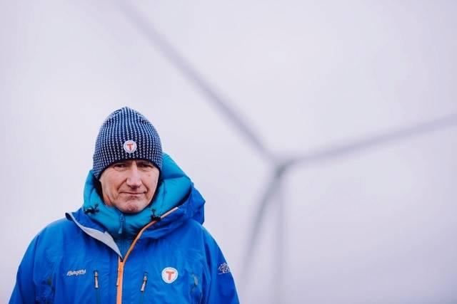Per Hanasand vindkraft utbygging opnion motvind DNT
