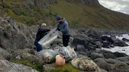 plast i havet ryddeaksjon utemagasinet