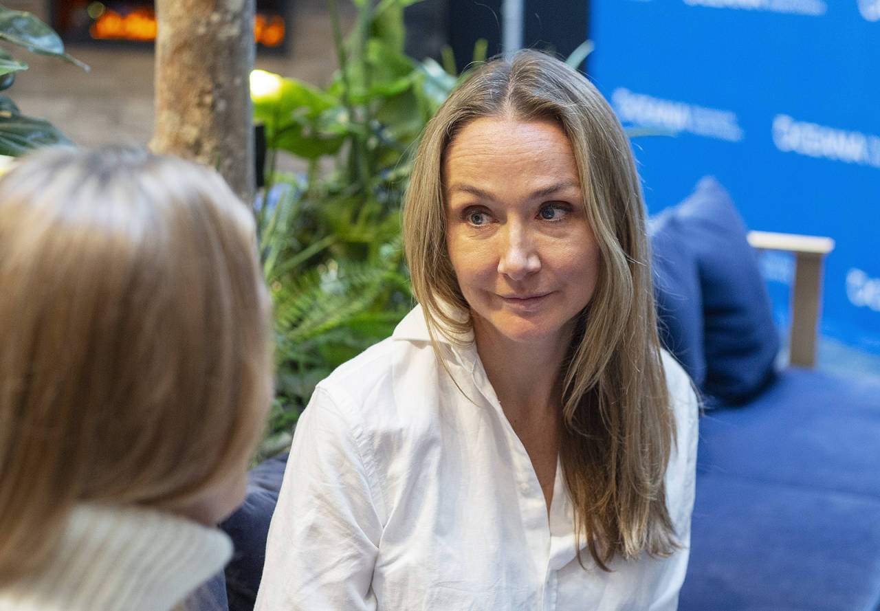 HAVETS BESKYTTER: Alexandra Cousteau har vokst opp med å utforske og verne havet. Nå er hun i Oslo, som i år er vertskap for Our Ocean-konferansen. Foto: Elin Fjelldal