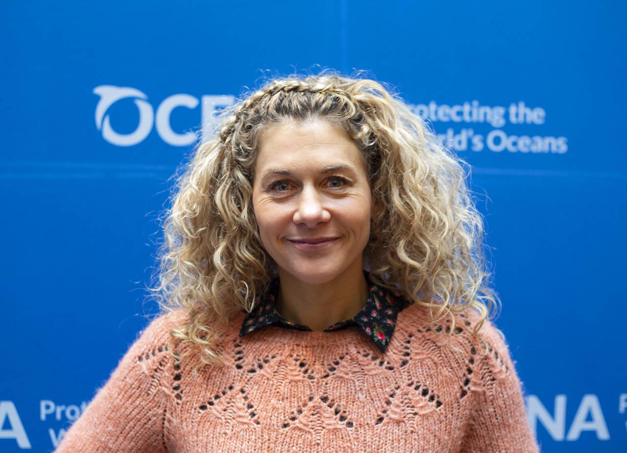 ENGASJERT: Cecilie Skog forteller at havplasten var det som først fikk henne til å innse hva som er i ferd med å skje med planeten vår. Foto: Elin Fjelldal