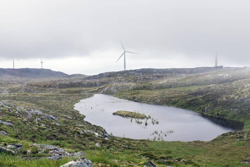 vindmøller vindpark haramsøya