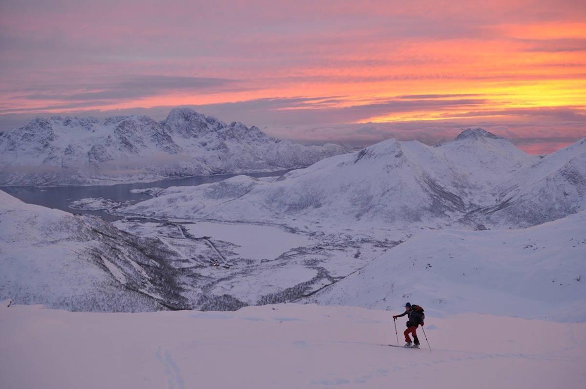 Finn de flotte men tryggere fjellene når det er stor skredfare! Foto: Espen Nordahl