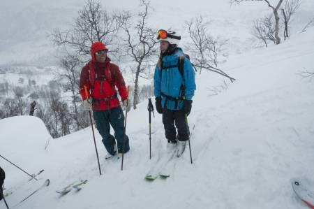 IVRIG-CAMP: Målet er deltakerne skal bli tryggere på å ta egne veivalg oppover, nedover og bli tryggere på å ta egne avgjørelser i fjellet. Foto: Kristine M. Berg