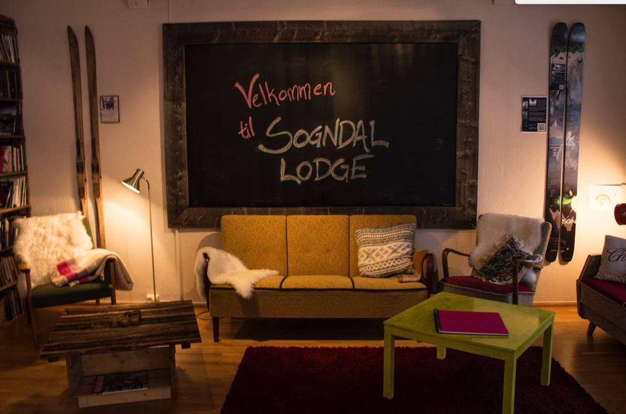 På Sogndal lodge har du det du trenger for et koselig opphold! Foto: Sogndal Lodge