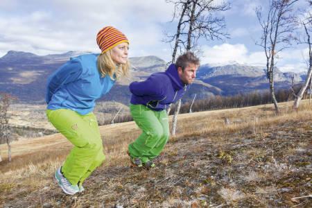 Barmarkstrening for ski
