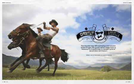 """Etter reportasjen """"Cowboyliv i Mongolia"""", har Solfrid K. Roald blitt inspirert til å gjennomføre sin Mongoliadrøm."""